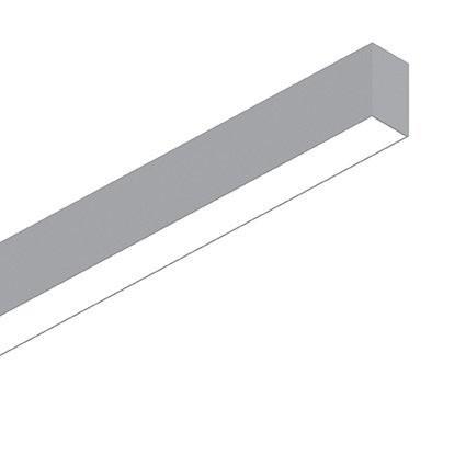 Потолочный светильник Ideal Lux FLUO WIDE 1800 3000K ALLUMINIUM (192536)