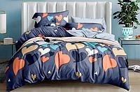 """Двуспальный комплект постельного белья """"Цветные сердца"""""""