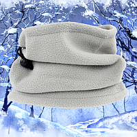 Зимний флисовый бафф универсальный, фото 1