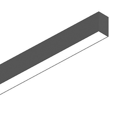 Потолочный светильник Ideal Lux FLUO WIDE 1200 3000K BLACK (191997)