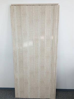 Дверь складная 820 секвоя 880*2030*10 мм, фото 2