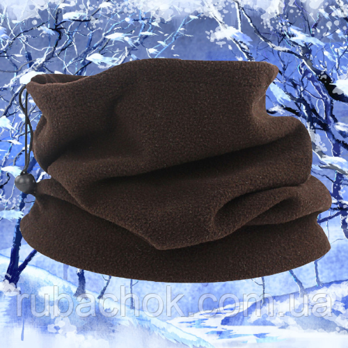Бафф шарф шапка флисовая