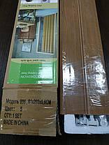 Дверь гармошка межкомнатная раздвижная глухая из ПВХ 810*2030*6 мм Ольха №5, фото 2
