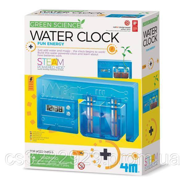 Набір для досліджень 4M Годинник на енергії води (00-03411)