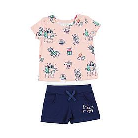 Костюм для дівчат рожевий Фламінго