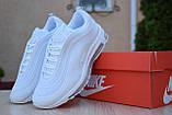 Кросівки розпродаж АКЦІЯ останні розміри NIKE Air Max 97 550 грн 36й(23см) 40р 25.5 см, люкс копія, фото 4