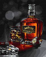 Картина рисование по номерам Никитошка Джек Дэниэлс BK-GX35226 40х50 см Для кухни набор для росписи краски,