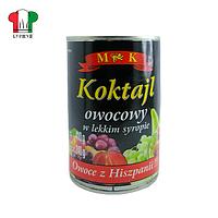 Коктейль фруктовый, МК 410/240г