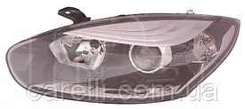 Фара левая электро хром Н7+Н7 для Renault Megane 2014-16