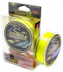 Шнур рыболовный Mikado Nihonto 8 Octa Braid 150 м 0.18 мм 16.40 кг Fluo Yellow