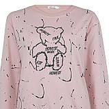 Кофта женская стильная розовая, демисезонный свитшот Lianara, фото 3