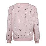 Кофта женская стильная розовая, демисезонный свитшот Lianara, фото 2