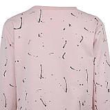 Кофта женская стильная розовая, демисезонный свитшот Lianara, фото 4
