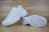 Кросівки розпродаж АКЦІЯ останні розміри Fila Disruptor 550 грн 40(25.5 см), люкс копія, фото 3