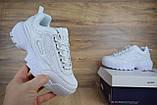 Кросівки розпродаж АКЦІЯ останні розміри Fila Disruptor 550 грн 40(25.5 см), люкс копія, фото 4