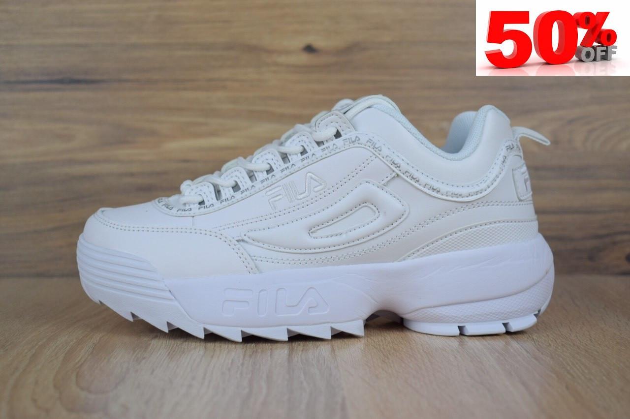 Кросівки розпродаж АКЦІЯ останні розміри Fila Disruptor 550 грн 40(25.5 см), люкс копія