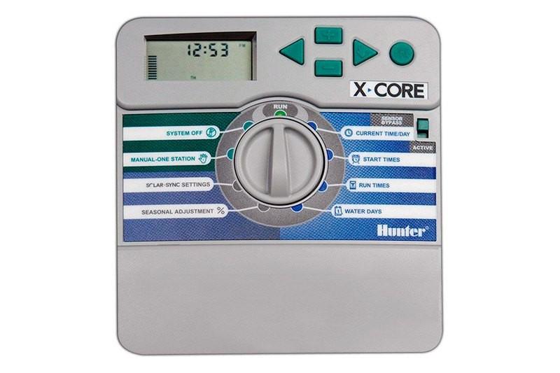 Електронний контролер поливу Hunter X-СORE-801i-E(внутрішній) на 8 зон.