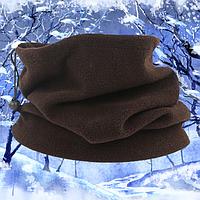 Бафф бандана шарф зимний флисовый, фото 1