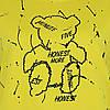 Молодіжний світшот жовтий жіночий, яскравий стильний оригінальний світшот Lianara Sweatshirt, фото 6