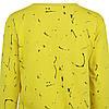 Молодіжний світшот жовтий жіночий, яскравий стильний оригінальний світшот Lianara Sweatshirt, фото 7