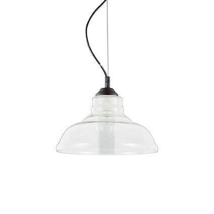 Подвесной светильник Ideal Lux BISTRO SP1 PLATE TRASPARENTE (112336)