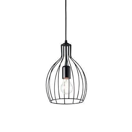 Подвесной светильник Ideal Lux AMPOLLA-2 SP1 NERO (148151)