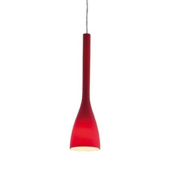 Светильник подвесной Ideal Lux FLUT SP1 SMALL ROSSO (035703)