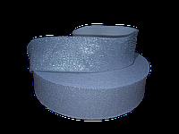 Резинка люрикс 5 см серая