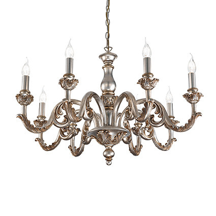 Люстра Ideal Lux GIGLIO SP8 ORO (075341)