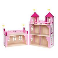 Кукольный домик Goki Замок 2 этажа, закрывается (51772G)