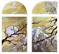 Витражные окна сакура