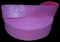 Резинка люрикс 5 см малина