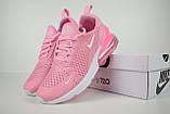 Кроссовки распродажа АКЦИЯ последние размеры Nike Air Max 270 розовые 550 грн 40й(25,5см), люкс копия, фото 3