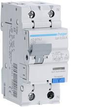 Дифавтомат 25 A, 30 мA, хар-ка C, тип A, Hager AC975J