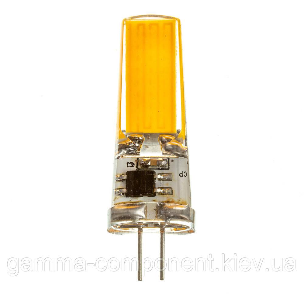 Светодиодная лампа G4 220V 5W Silicon 3000K cob2508 SIVIO