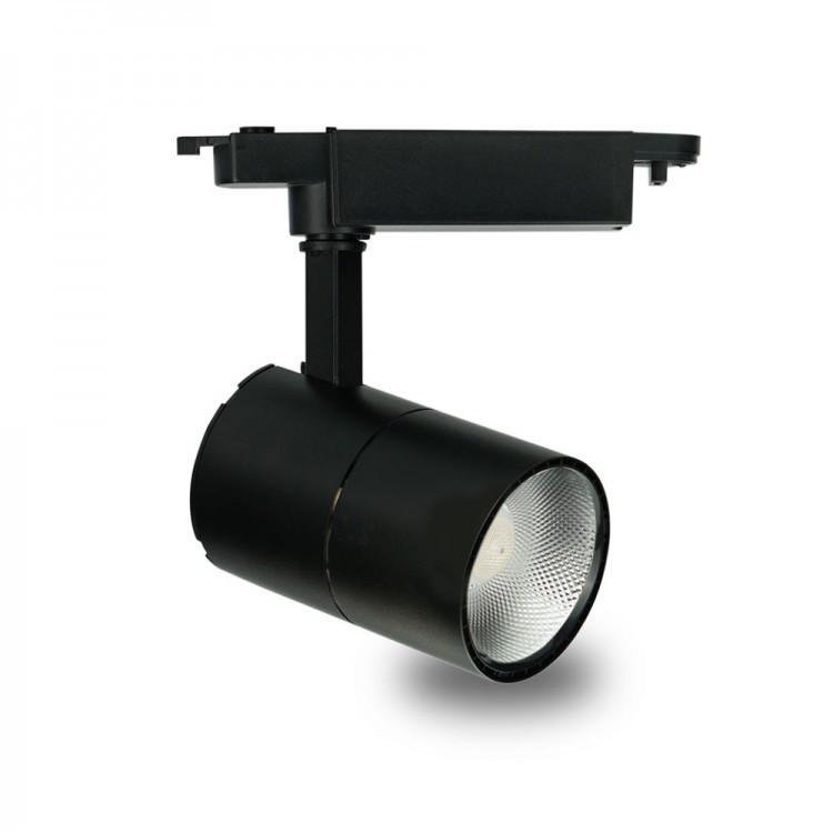 Трековий світильник Feron AL103 30W 2700К  чорний