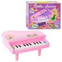Пианино DN 818 TB (60шт) Фея, на ножках, муз, свет, на бат-ке, в кор-ке, 21,5-19-7см, шт