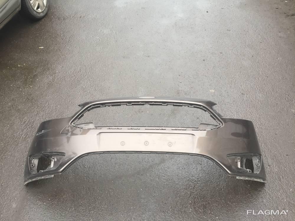 Бампер передний Ford Focus 3 Рестайлинг F1EB-17757-A от 2015-гг. оригинал