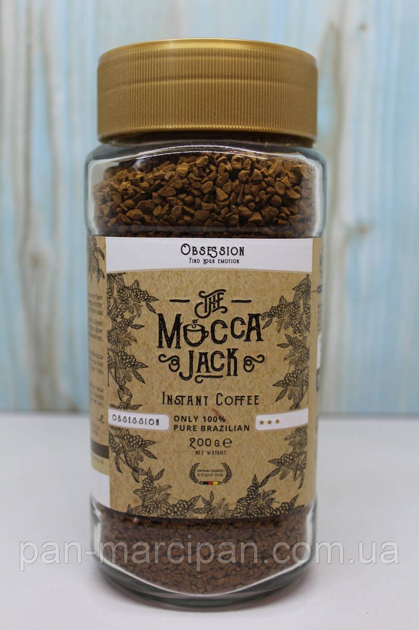 Кава розчинна Mocca Jack 200 г (світла)