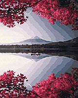 """Картина по номерам. Brushme """"Вечер у гори Фудзи"""" GX32325"""