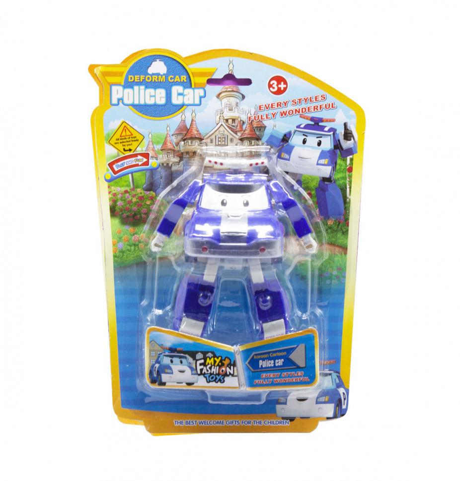 Трансформер транспорт Robocar POLI 378B (Синий Полиция)