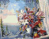 "Картина по номерам. Rainbow Art ""Лилии на окне"" GX4562-RA"