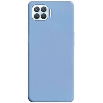Силиконовый чехол Candy для Oppo A93 Голубой / Lilac Blue