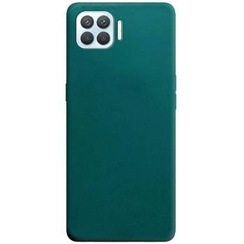 Силиконовый чехол Candy для Oppo A93 Зеленый / Forest green