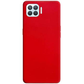 Силиконовый чехол Candy для Oppo A93 Красный