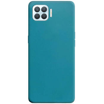 Силиконовый чехол Candy для Oppo A93 Синий / Powder Blue