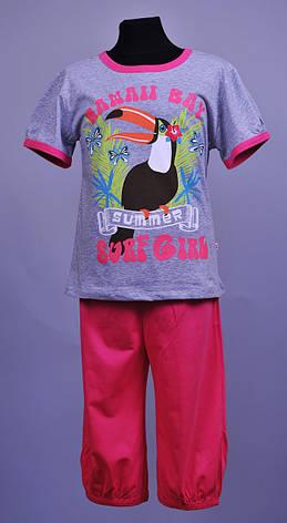 Пижама для девочки Natural Club 1034 104 см Розовый, фото 2