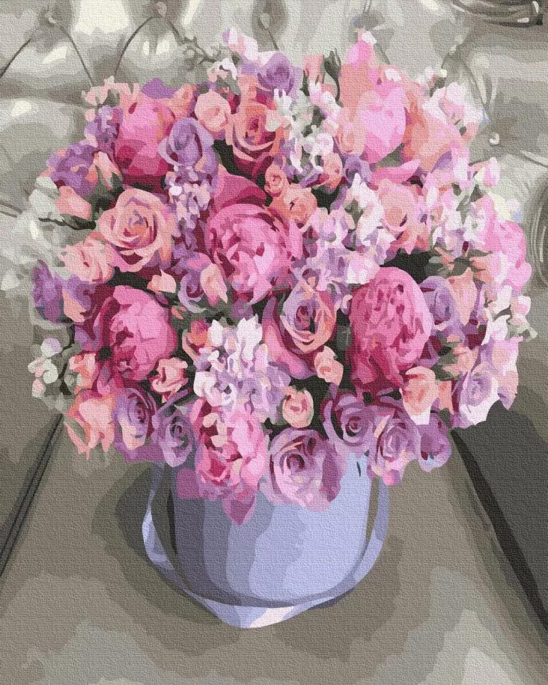 "Картина по номерам. Rainbow Art ""Цветочная композиция"" GX36203-RA"