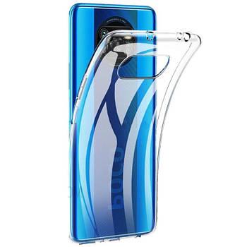TPU чехол Epic Transparent 1,0mm для Xiaomi Poco X3 NFC