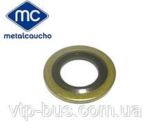 Прокладка, шайба болта масляного поддона на Renault Trafic 1.9dCi (2001-2006) Metalcaucho (Испания) MC02024